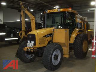 2008 Challenger MT445B Tractor with Side Boom Mower
