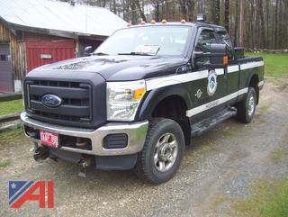 2013 Ford F350 Super Duty Extended Cab Pickup Truck
