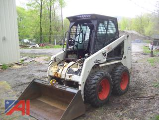1995 Bobcat 753H C Series Skid Steer with Accessories