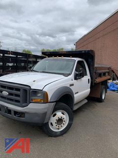 2005 Ford F450 Super Duty Dump Truck
