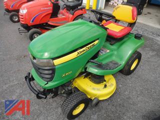 2012 John Deere X300 Mower