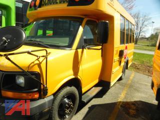(#389) 2009 GMC Savana G3500 Mini School Bus