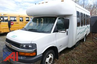 (#1307) 2013 Supre/Chevy Express G4500 Mini Bus with Wheelchair Lift