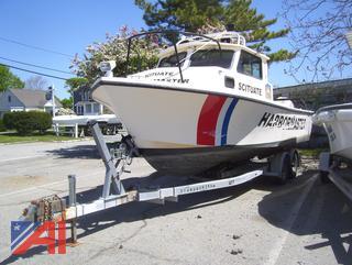 2000 Parker 25' Patrol Boat and Trailer