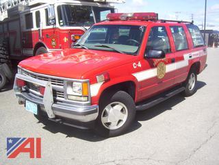1999 Chevy Tahoe SUV/Emergency Vehicle