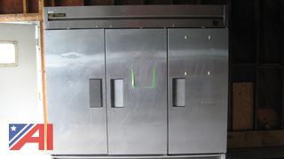 True Manufacturing 3 Door Freezer
