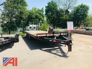 2010 PJ Trailer with Ramps