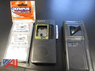 Cassette Recorders and Telephone Recording Control