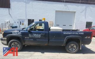2005 Chevy Silverado 3500 Pickup Truck with Plow