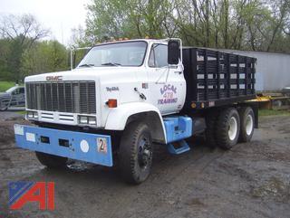 1983 GMC Topkick 7000 Stake/Rack Truck