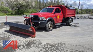 2015 Dodge Ram 4500 Heavy Duty Dump Truck with Plows & Sander
