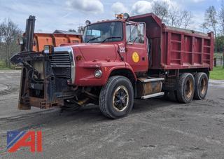 1997 Ford LTS9000 Dump Truck & Plows