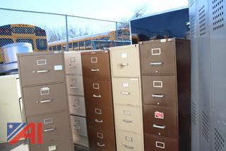 File Cabinets & Dry Erase Board