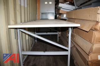 Storage Cabinets & Drafting Table