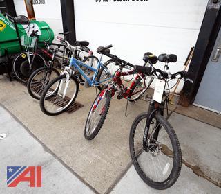 (5) Assorted Bikes