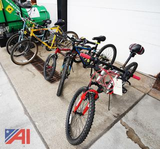 (5) Assorted Bicycles
