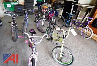 (10) Assorted Bicycles