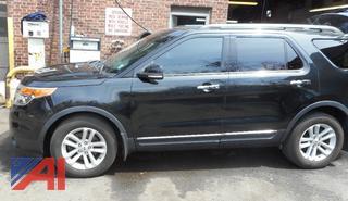 (#37) 2013 Ford Explorer XLT SUV/Police Vehicle