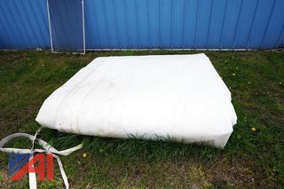 Salt Shed Fabric Cover 80'L x 60'W
