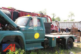 1979 Ford F600 Flatbed