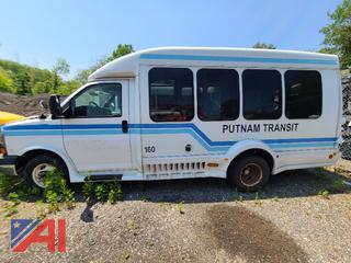 (#2) 2009 Chevy Express LS 3500 Mini Bus with Wheelchair Lift