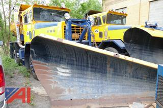 1988 FWD RB44-3331 Truck with Plow & Sander