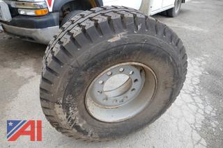Goodyear Super-Single 18-19.5 Bud Wheel Tire, New/Old Stock