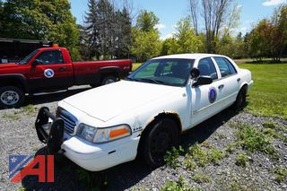 2010 Ford Crown Victoria 4 Door Police Interceptor/14B