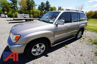 2003 Toyota Land Cruiser SUV (Parts Only)