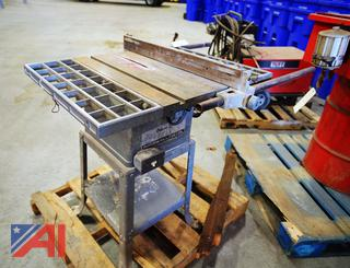 """Rockwell Delta Deluxe 9"""" Table Saw"""