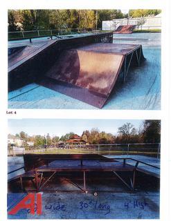 22' x 30' Large Unit Skate Park Ramp
