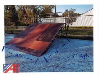 12' x 15' Single Skate Park Ramp