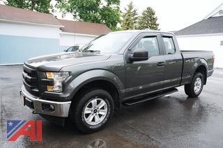 2017 Ford F150 Extended Cab Pickup Truck