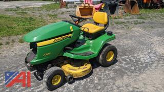 "John Deere X300 42"" Lawn Mower"