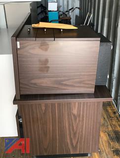 (#11) L Shaped Office Desk