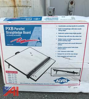 (#12) PXB Parallel Straightedge Drafting Board, New/Old Stock