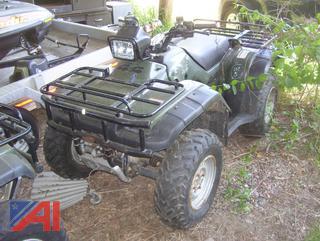 2003 Honda TRX450FE Quad