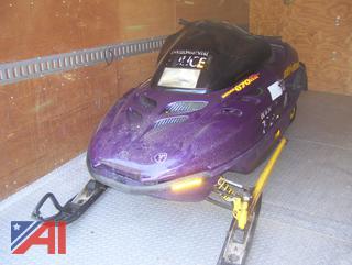 1998 SkiDoo Rotax 670 Snowmobile