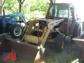 1986 Ford 340B Industrial Tractor