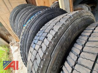(#1) Continental Conti Hybrid HD3 225/70R19.5 Tires