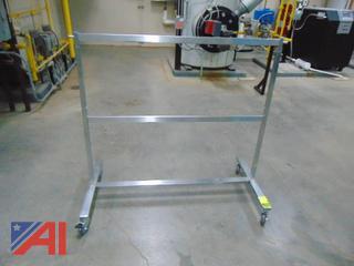 Adjustable Ballet Bar on Wheels