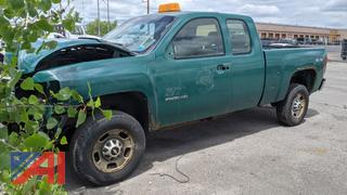 2011 Chevy Silverado 2500HD Extended Cab Pickup Truck