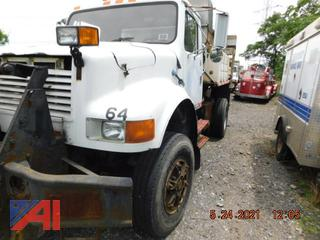 (#764) 1991 International 4800 Salter Truck