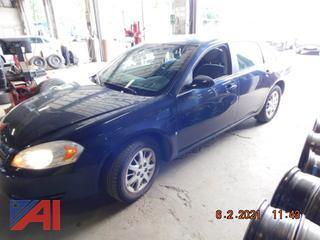 (#5004) 2008 Chevy Impala 4DSD Police Vehicle