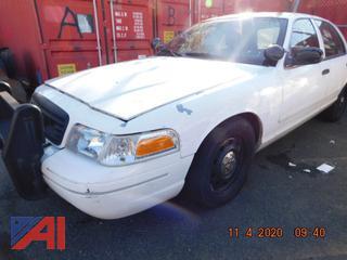 (#5636)   2007 Ford Crown Victoria 4 Door/Police Interceptor