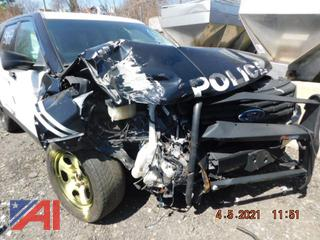(#5847) 2016 Ford Explorer SUV/Police Vehicle
