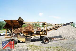 1962 Acme Type C 11 x 25 Jaw Crusher Stone Plant