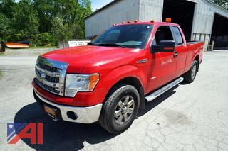 2014 Ford F150 XLT Extended Cab Pickup Truck