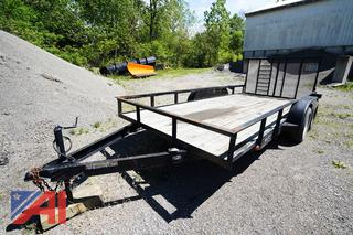 2003 Betterbuilt 16' Utility Trailer with Ramp