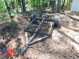 Homemade Utility Trailer with Ramps